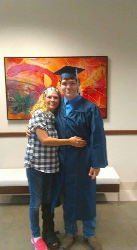 Douglas' graduation