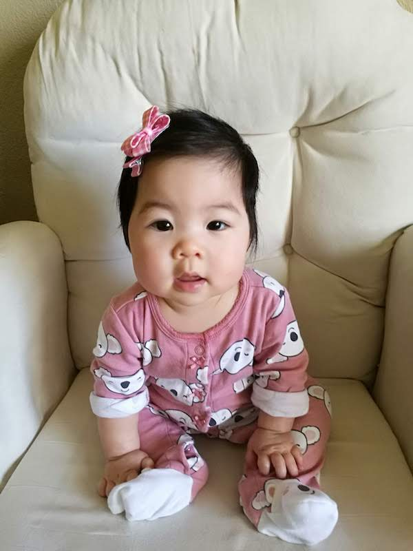 Adorable Chinese baby